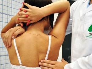 Остеохондроз шейного и грудного отделов