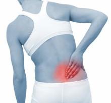 Особенности боли в спине в области поясницы
