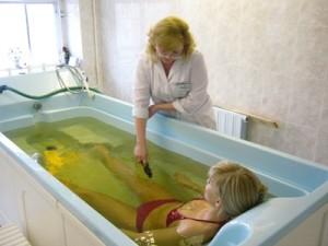 Лечебные ванны при грыже позвоночника