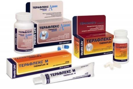 Инструкция по применению мази и таблеток Терафлекс