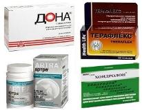 Аналоги препаратов Терафлекс и Терафлекс Адванс дешевле