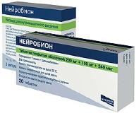 Таблетки Нейробион: инструкция по применению, аналоги, отзывы