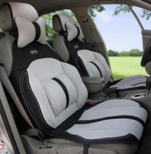 Ортопедические чехлы на сиденья автомобиля