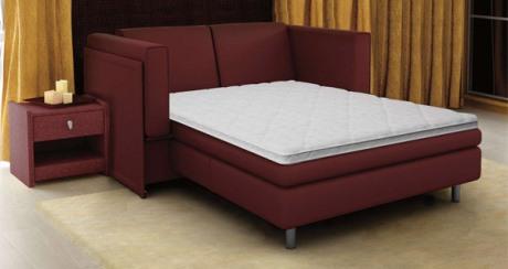 Особенности диванов для ежедневного сна с ортопедическим матрасом