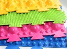 Ортопедические коврики-пазлы для детей: растим ребенка здоровым