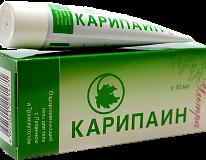 Гель Карипаин при грыже позвоночника - инструкция по применению, цена, аналоги, отзывы