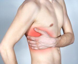 Как самостоятельно определить ушиб груди