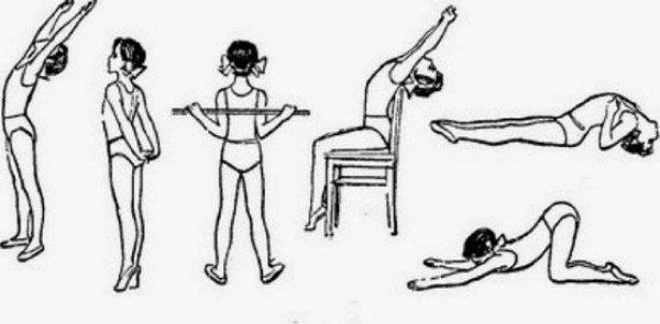 Упражнения для выпрямления позвоночника